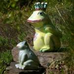 Gartenkeamik Froschkönig